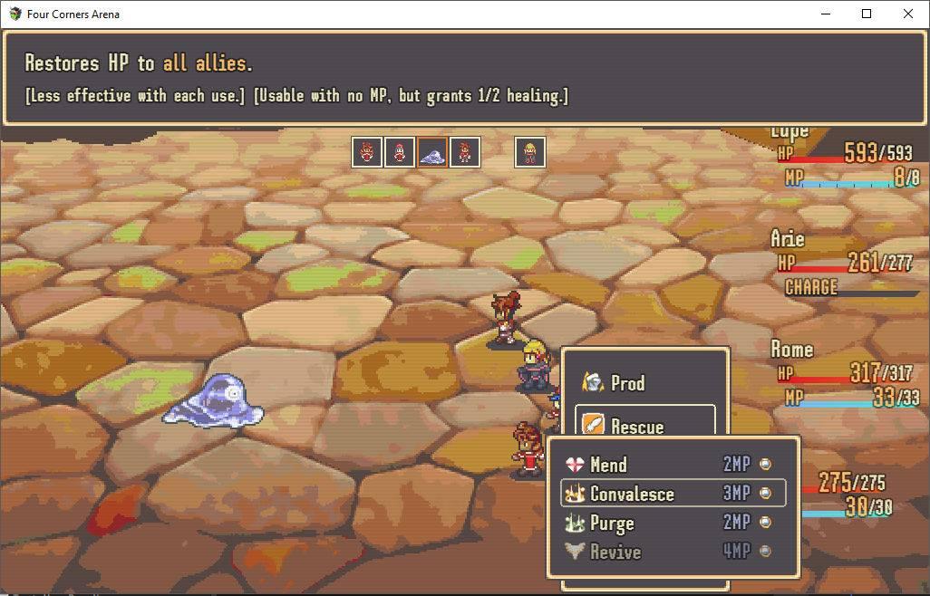RPG Dev Blog | Development blog for Four Corners Arena